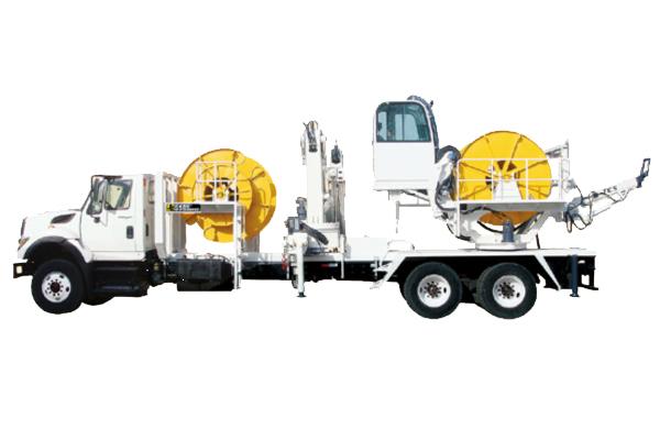YDL系列矿用特种电缆卷放车